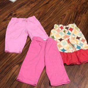Baby girl pants set